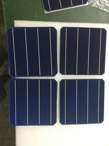 Image 2 - 10Pcs 5W 0.5V 20.4% Effciency Grade A 156 * 156MM Photovoltaic Mono Monocrystalline Silicon Solar Cell 6x6 For Solar Panel