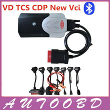 2015.R3/2014.R3 Keygen Activate new vci With Bluetooth VD TCS cdp pro plus With 8 pcs/set cable for car cables For Cars Trucks
