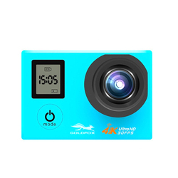 4K Ultra HD Sport Action Camera WiFi Remote Control Dual Screen 1080P Underwater Waterproof Helmet Video Recording Sports Camera