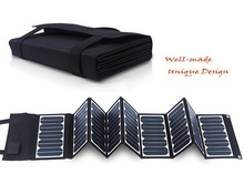 High Efficiency Sunpower 60W 5V/18V Folding Solar Panel Charger For Mobile Phones/Power Bank / Laptops /12V Battery Charger NEW