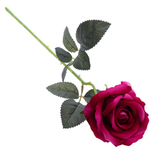 BESTOYARD Artificial Lint Rose Flowers Bouquet For Valentine