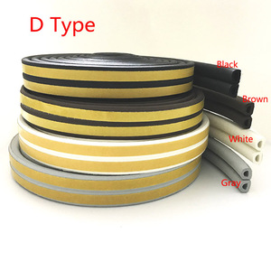 Z Type Car Door Seal Noise Insulation Weatherstrip Sealing Rubber Strip Trim Auto Rubber Seals Z-shaped Seal(China)
