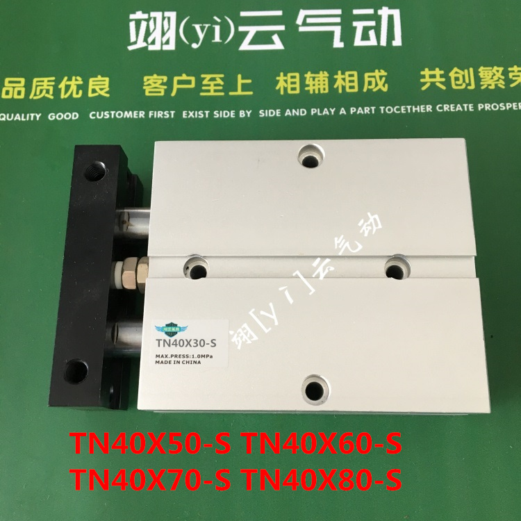 TN40X50-S TN40X60-S TN40X70-S TN40X80-S AirtacTwo-axis double bar New Air Cylinder Double-shaft Double TN series tn40x175 s tn40x400 s tn40x250 s tn40x300 s airtactwo axis double bar new air cylinder double shaft double tn series