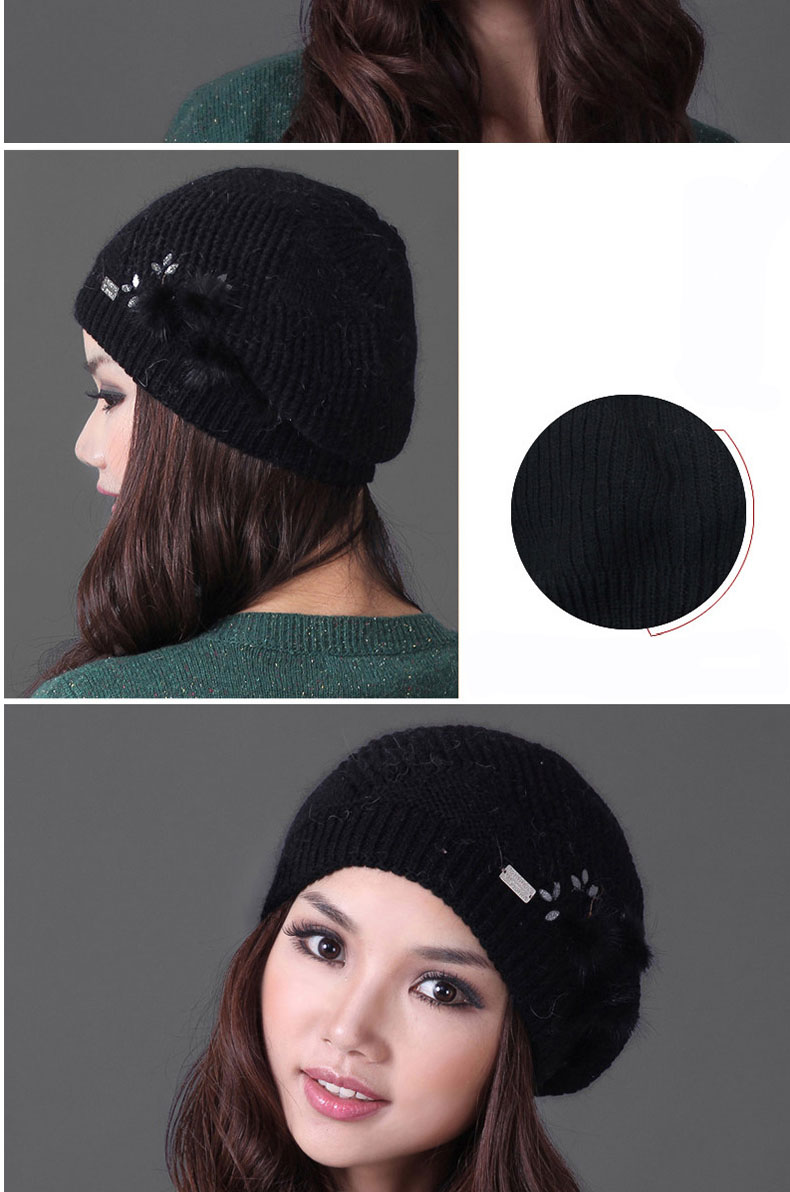 Female Cap Hat Thicken 11