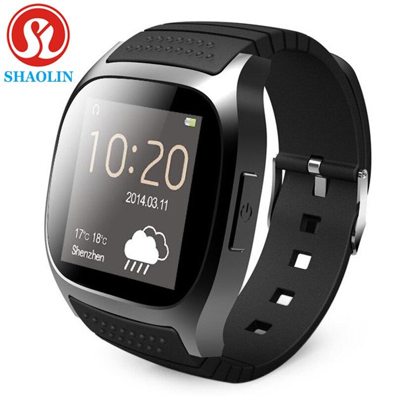 SHAOLIN Smart Watch M25 Clock SIM TF for Android Iphone Camera Bluetooth Wristwatch Smartwatch Phone PK