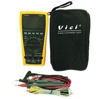 High quality VC99 3 5/6 digital multimeter DC AC voltage current Resistance Capacitance tester voltmeter ammeter auto range