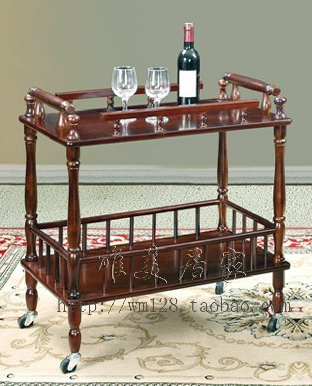 The Hotel Restaurant Diner Wood Coffee Table Meal Trolley Side Frame Kung  Fu Moves Liquor Trolley Beauty Cafe Car 2 On Aliexpress.com | Alibaba Group