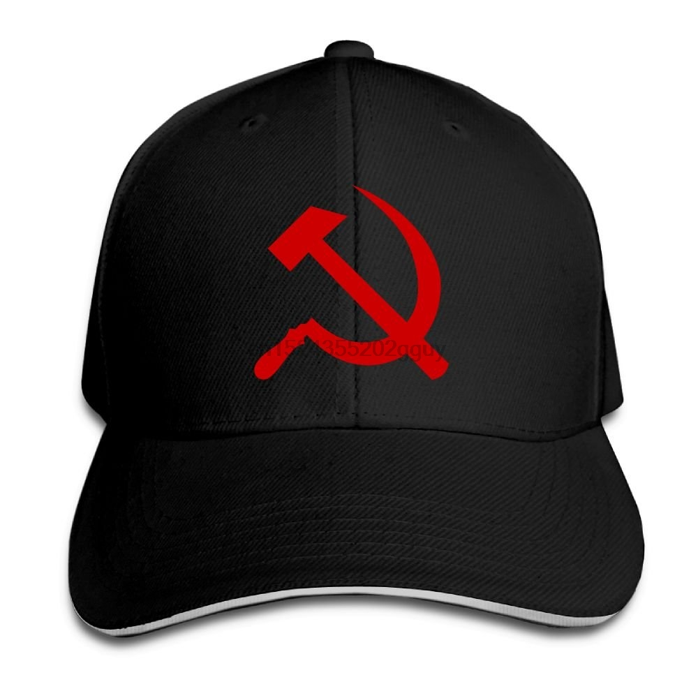 Hats Hammer Peaked Baseball-Cap Trucker-Cap Sickle Adjustable And