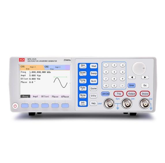 MCH Digital Signal Generator Function Signal Generator Arbitrary Function Signal Generator 25MHZ