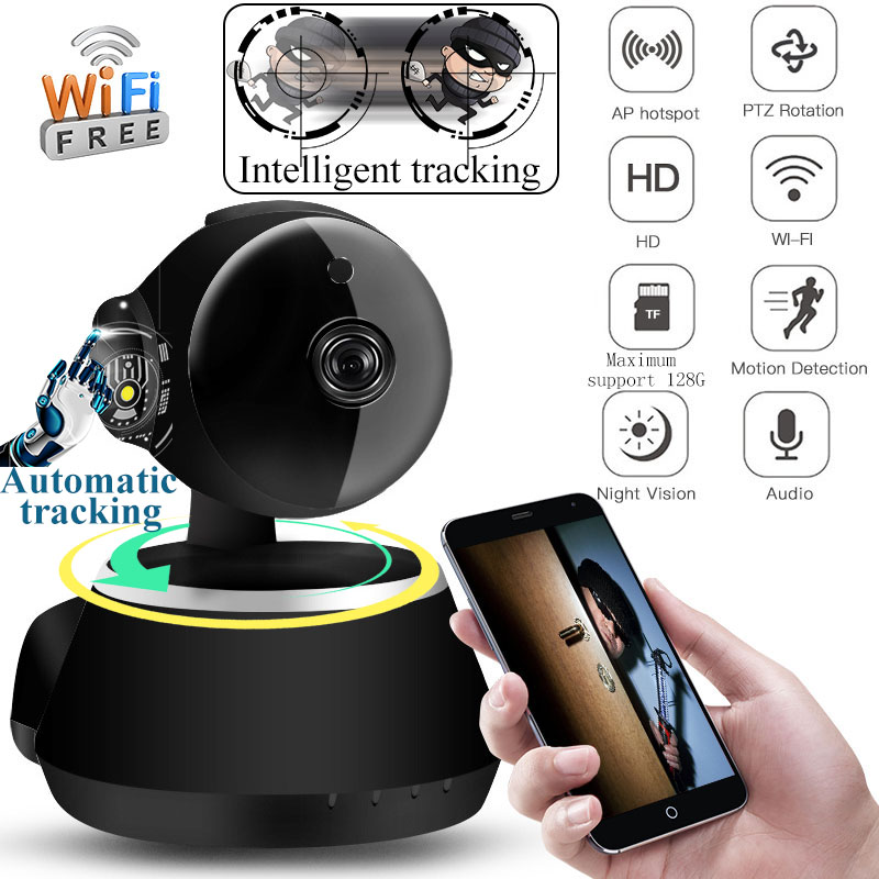 HD 1080P Cloud Wireless IP Camera Intelligent Auto Tracking Of Human Home Security Surveillance CCTV font