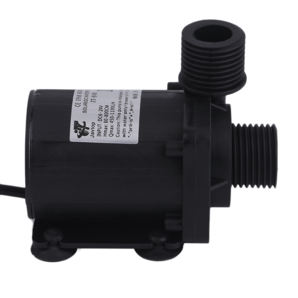 1pcs DC 24V 3.8M Magnetic Electric Centrifugal Water Pump Hotsell for Aquarium Solar-panel Circulate System Water Heater 2017 1pc free shipping new high quality 16cqf 8 magnetic electric centrifugal water pump