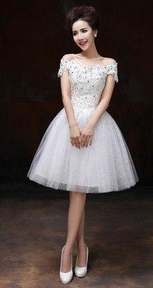 ca7dfe98bcc50 lace boat neck wedding party dress tutu princess engagement party ...