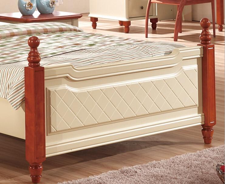 Bedroom furniture solid wood kids bed kt312 in beds from - Solid wood youth bedroom furniture ...