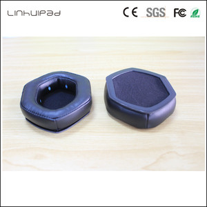 Image 3 - Linhuipad 1 pair V Moda headset ear cushion memory foam ear pads protein earpads fit on V Moda Crossfade M 100 LP2 LP