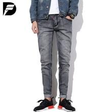 Fashion brand luxury quality straight jeans men denim trousers men casual jeans mens business pants pop vintage black jeans men