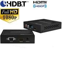 HDmatters VGA HDMI HDbaset удлинитель аудио эксрактор VGA HDMI 2 в 1 Входы Poh Мощность до 100 м