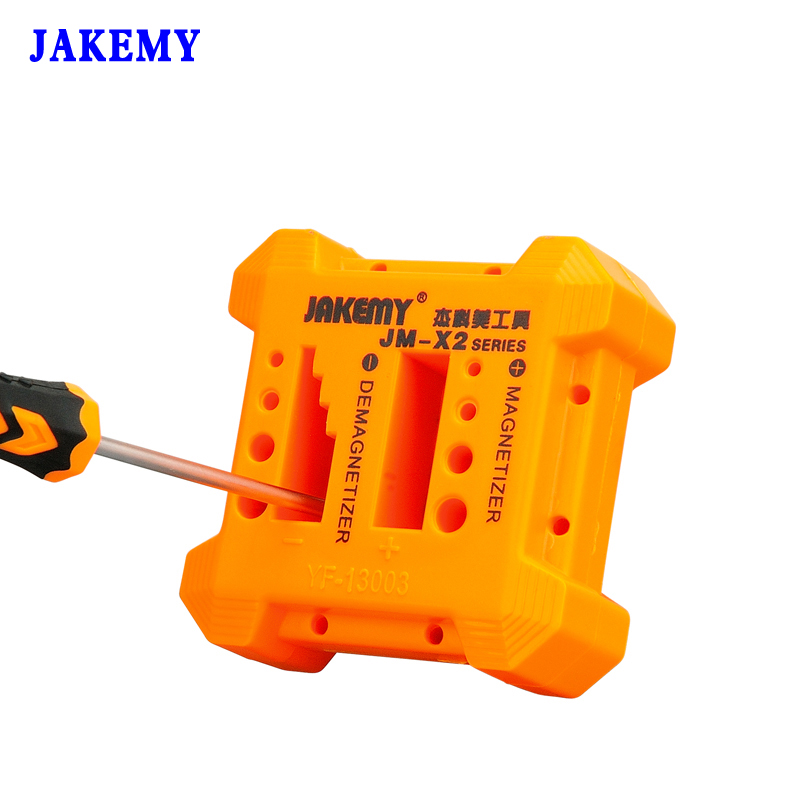 Jakemy Magnetizer Demagnetizer Screwdriver Magnetic Herramientas Ferramentas цена