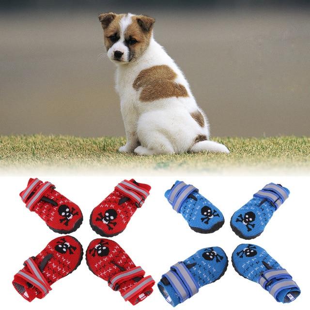 Hundetatzen Beschutzer Wasserdichtes Hund Schuhe Weave Hund Stiefel