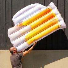 Гигантская надувная пивная кружка 180 см поплавок для бассейна