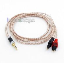3.5 мм 4 полюса Гррп re-zero сбалансированный 16 core occ серебро смешанные кабель наушников для Senheiser HD25 HD650 HD600 HD580 HD525 LN005832