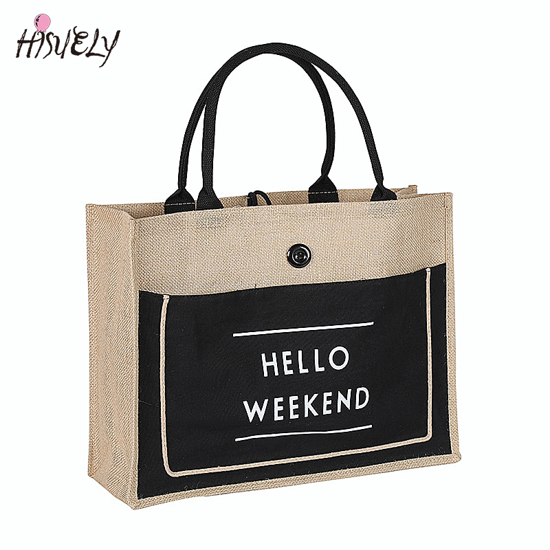 2019 High Quality Women Linen Luxury Tote Large Capacity Female Casual Shoulder Bag Lady Daily Handbag Fresh Beach Shopping Bag2019 High Quality Women Linen Luxury Tote Large Capacity Female Casual Shoulder Bag Lady Daily Handbag Fresh Beach Shopping Bag