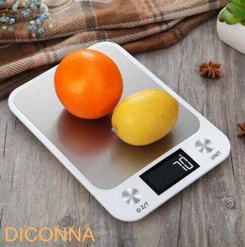 Электронные кухонные весы с ЖК-дисплеем, 10 кг/1 г-5