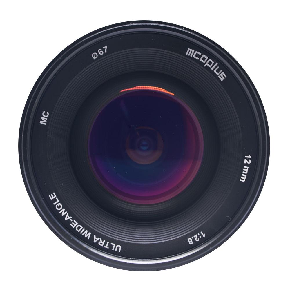 Mcoplus 12mm f/2.8 Manual Ultra Wide Angle Lens APS C for Fujifilm X Mount Mirrorless Camera X Pro2 X E3 X E2 X E1X T2 X T1 X M1|Camera Lens|   - title=