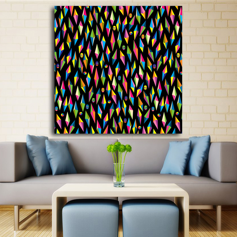 2017 abstract painting printed pop art on pinterest painting poster