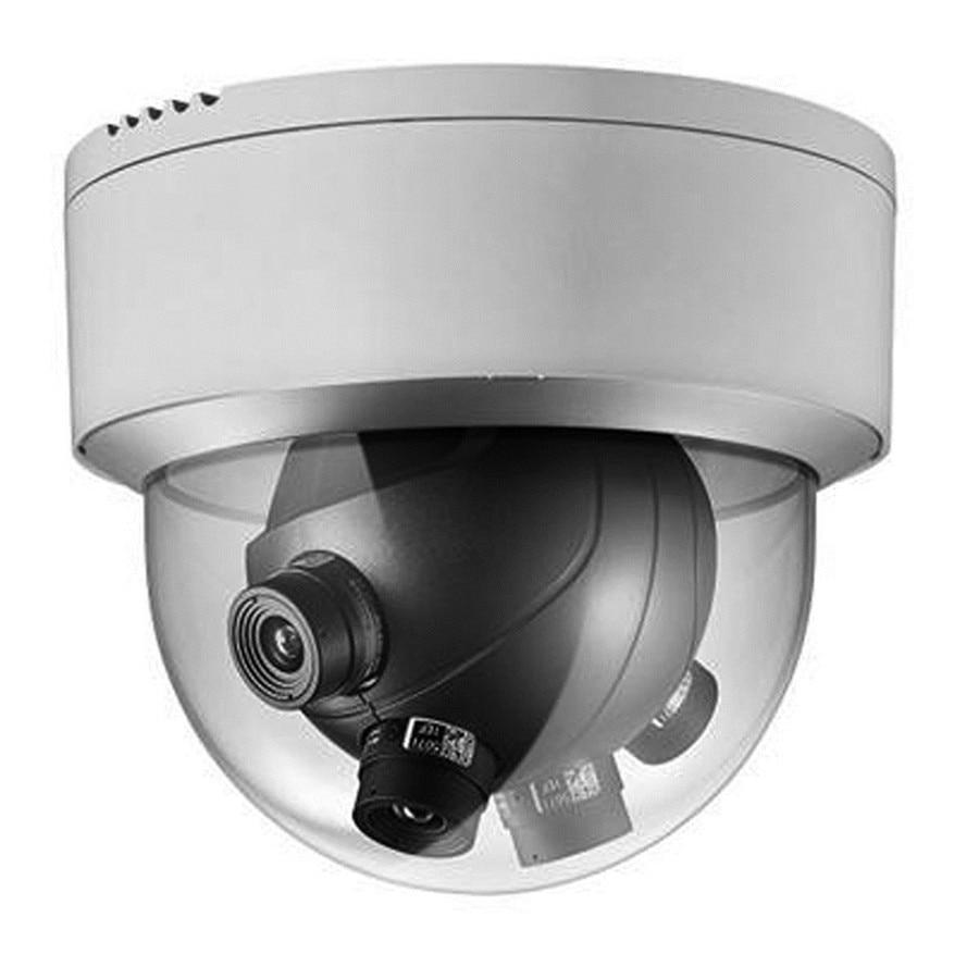 Hikvision IP Camera DS-2CD6986F 8MP 4x2MP Sensors Multi-Imager Fan 180 Degree Horizontal View CCTV Surveillance Dome Camera cd диск fleetwood mac rumours 2 cd