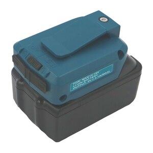 Image 5 - ADP05 לקיטה BL1430 BL1440 BL1830 BL1840 USB טעינת מתאם ממיר כלים סוללות חשמל בנק לחייב את טלפון Ipad