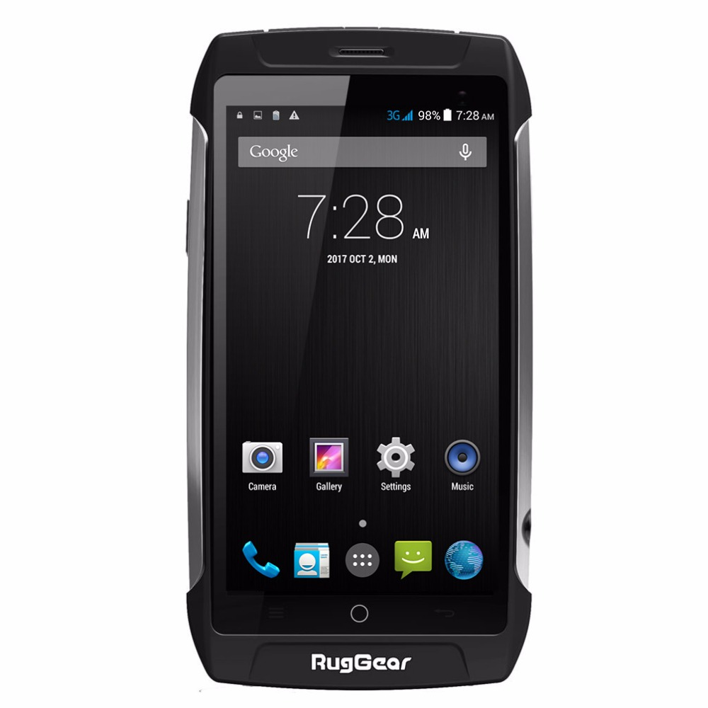 Waterproof cell phone RugGear RG710 GRANDTOUR Unlocked 5 0inch Android smart phone 4 core NFC Dual