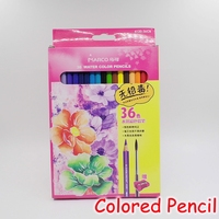 [MARCO] 36 Colors Water Soluble Colored Pencils Watercolor Pencil Set For School Sketch Drawing Art Supplies 4120 36CB