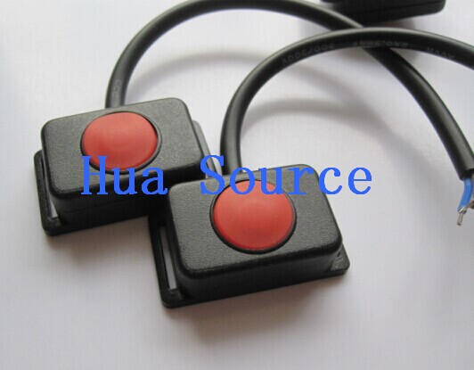 New Waterproof button switches Waterproof IP67 Flat Power Switch Waterproof switch Key switch