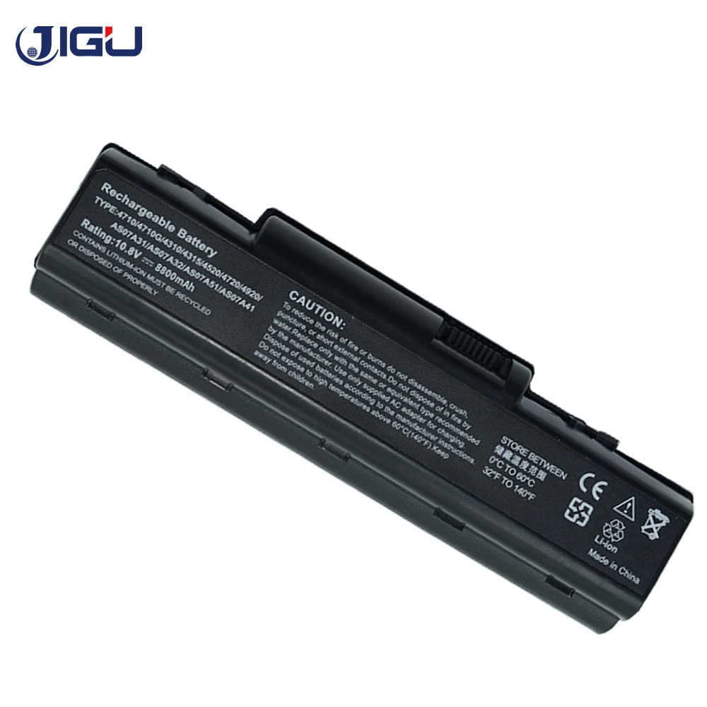 JIGU Laptop Battery For Acer AK.006BT.025 AS07A31 AS07A32 AS07A41 AS07A42 AS07A51 AS07A52 AS07A71 AS07A72 AS07A75 AS09A61 image