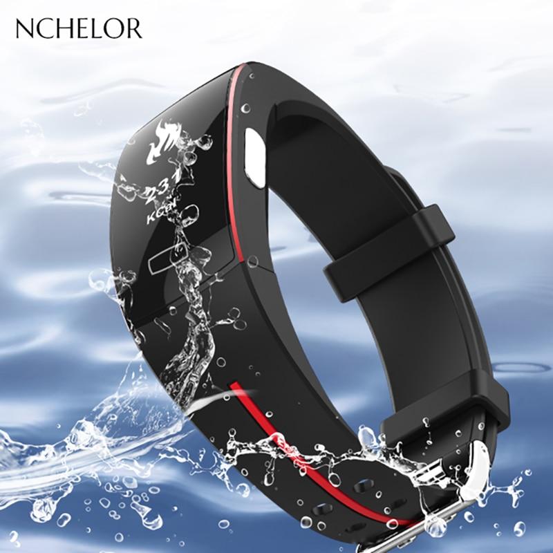 Двухцветные спортивные Часы Приборы для измерения артериального давления и пульса спортивные часы здоровья для мужчин цифровые часы спорт...
