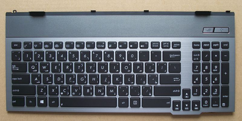 New keyboard for ASUS G55 G55VM G57 G55VW G55XI361VW-BL G55XI363VW-BL ARABIC/US/UK/RUSSIAN layoutNew keyboard for ASUS G55 G55VM G57 G55VW G55XI361VW-BL G55XI363VW-BL ARABIC/US/UK/RUSSIAN layout