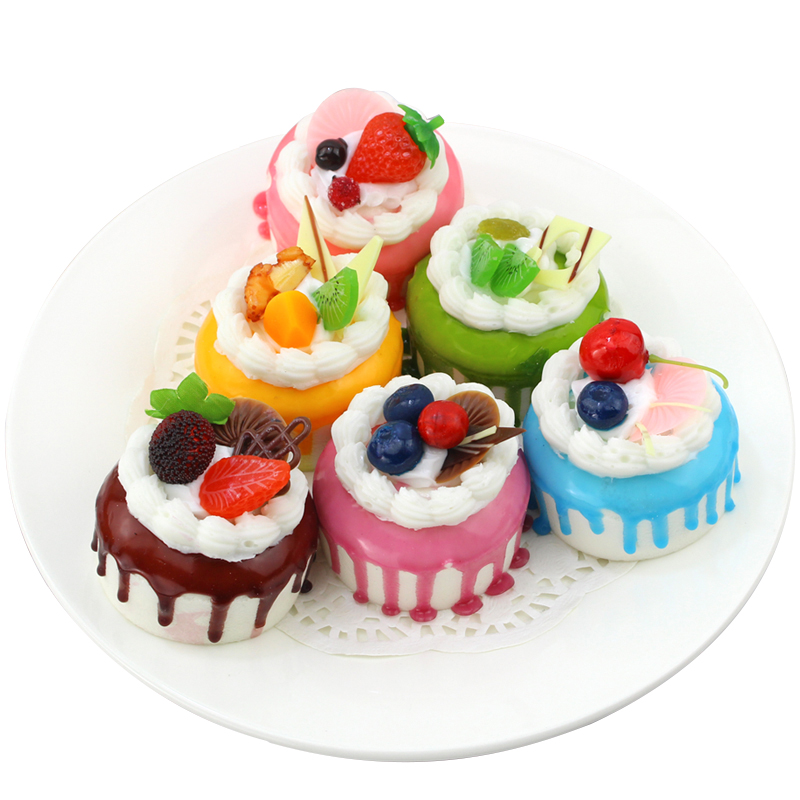 050 Imitation cream fruit cake model food fake fruit dessert fake bread in Artificial Foods Vegetables from Home Garden