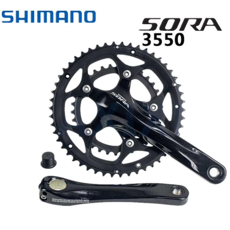 Shimano Sora FC-3550 Crankset Bottom Bracket Chain Wheel Guard 3550 Crank 2x9s