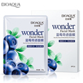 BIOAOUA Blueberry Silk Facial Mask Sheet Whitening Moisturizing Face Masks Blueberry Skin Care Anti Aging Oil-Control 30ml*18Pcs