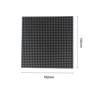 Image 4 - P6 32x32pixels indoor full color SMD3528 3in1 RGB led display module P2.5 P3 P4 P5 P7.62 P8 P10 led screen panel for stage