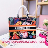 Brand Canvas Handbags Letter Shoulder Bag Large Capacity A4578