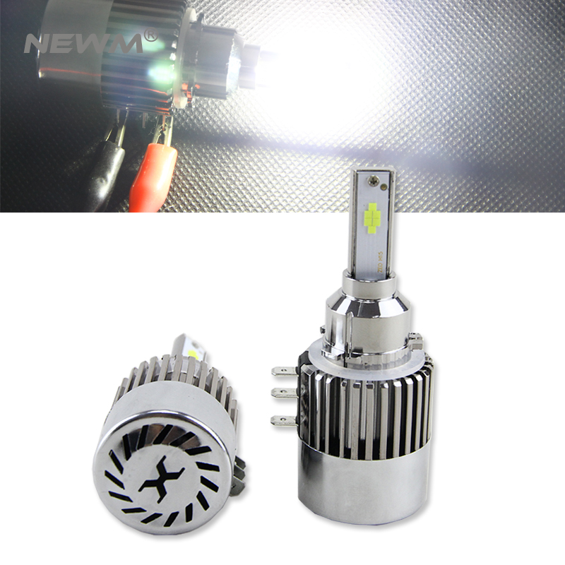 H15 LED Headlight Canbus No Error Free High Beam Daytime Running Light DRL Head Lamp for Audi for Mercedes for VW for Golf GLA pair error free canbus high power xenon white h7 for cree chips led kit for bmw e46 3 high beam daytime running lights