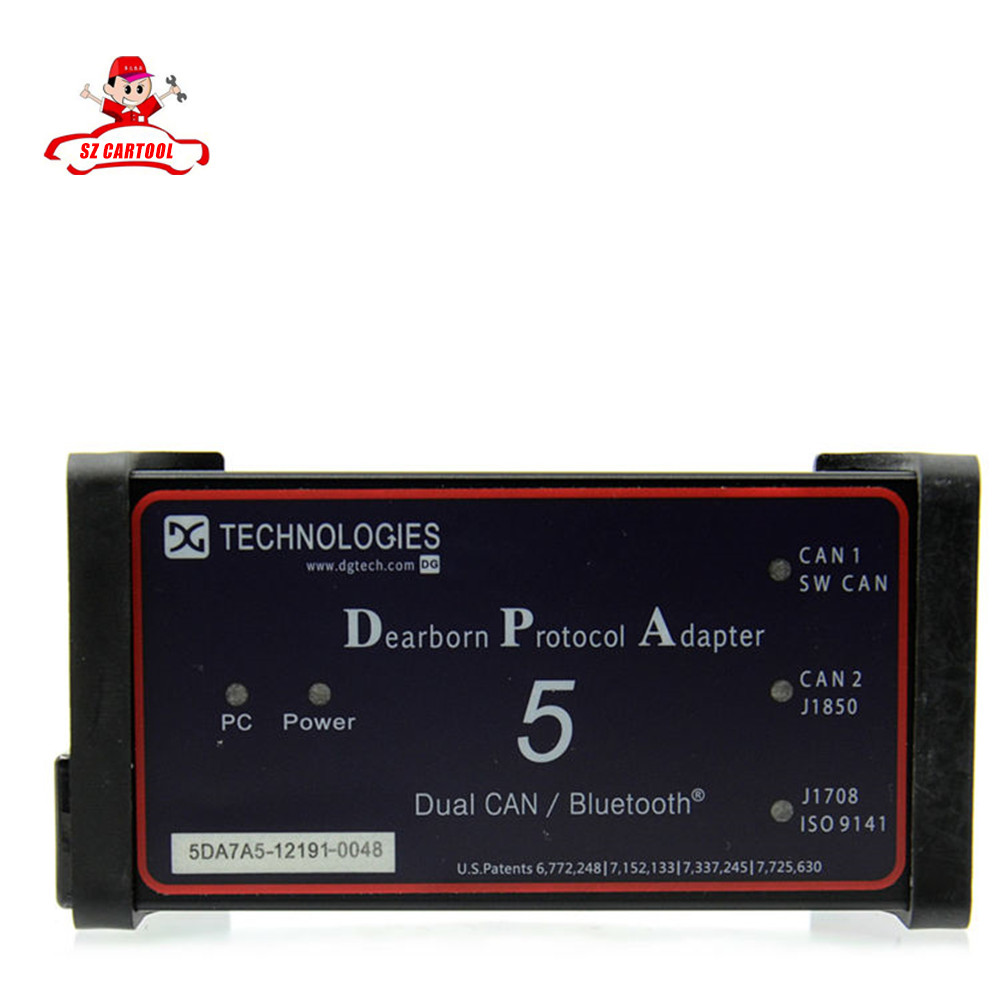 2016 Top Professional DPA5 Dearborn Portocol Adapter 5 Heavy Duty Truck Scanner(Without Bluetooth)as NEXIQ/ TDK Truck DPA 5