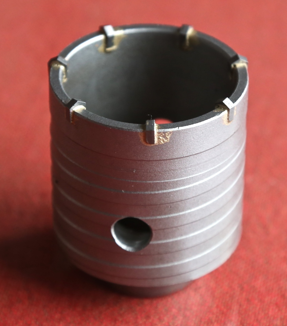 Free shipping of professional 65*72*M22 carbide tipped wall hole saw for air condtiional holes opening on brick concrete wall 60mm tungsten carbide tipped stainless