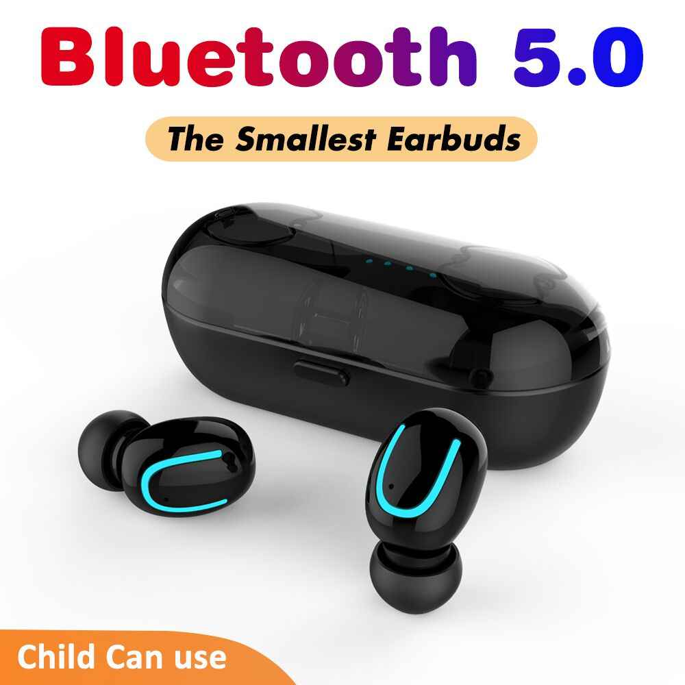 03098d67c8a2c4 ... 5.0 Bluetooth Earphone Mini Bluetooth Headphone in-ear Headset for 6  Hours Working Wireless Earbuds