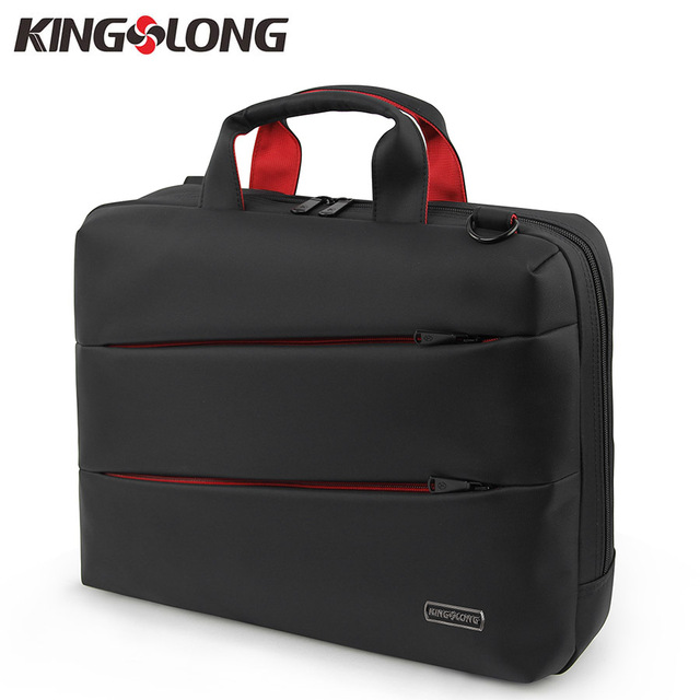 1ddb38020df4 KINGSLONG Nylon 15. 6 inch Laptop Computer Notebook Bag Briefcase for Men  Business Briefcase Shoulder Messenger Bag KLM112410-6