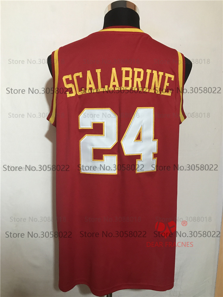 68190bc3e8c ... official store top usc trojans 24 brian scalabrine jersey throwback  college basketball jersey vintage retro basket uk mens stitched shirts ...