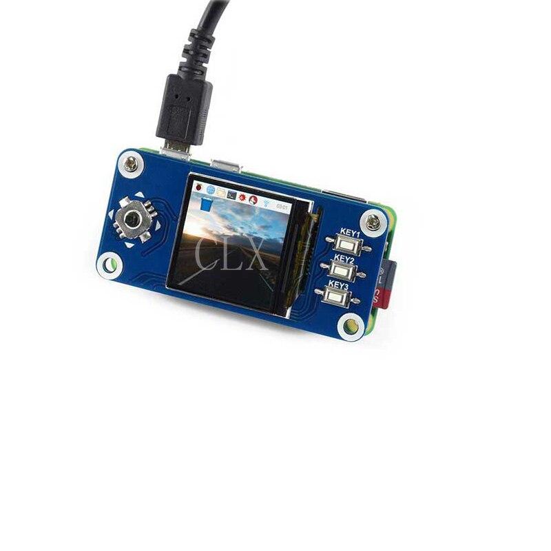 1.3inch IPS LCD Display HAT For Raspberry Pi,240x240 Pixels,SPI Interface ,for Raspberry Pi Zero/Zero W/Zero WH/2B/3B/3B+