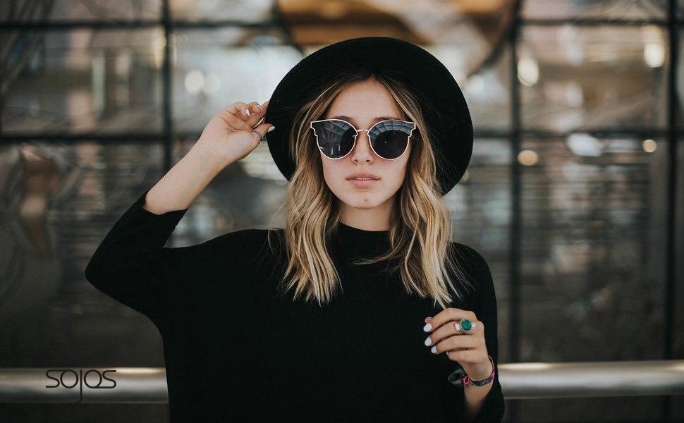 0b522b11f Detail Feedback Questions about Sunglasses Woman Fashion CatEye ...