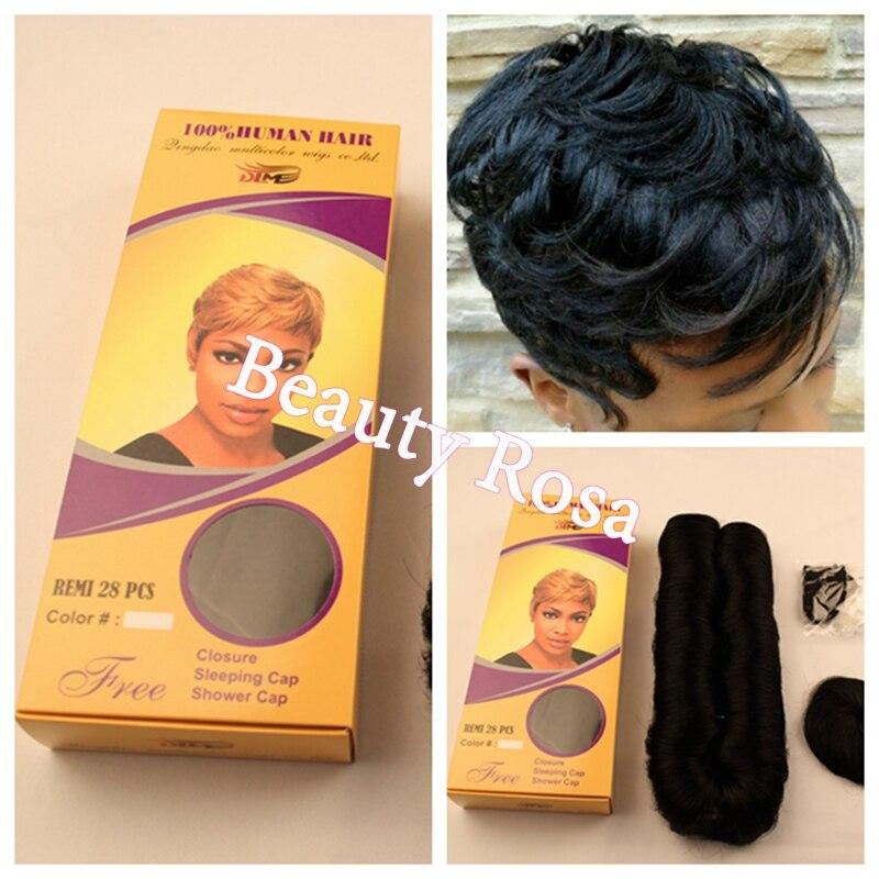28 Piece Weave Short Hairstyle Ukrobstep